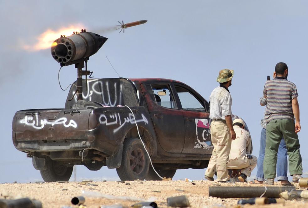 22 Perang di Libya: Sirte pada ofensif