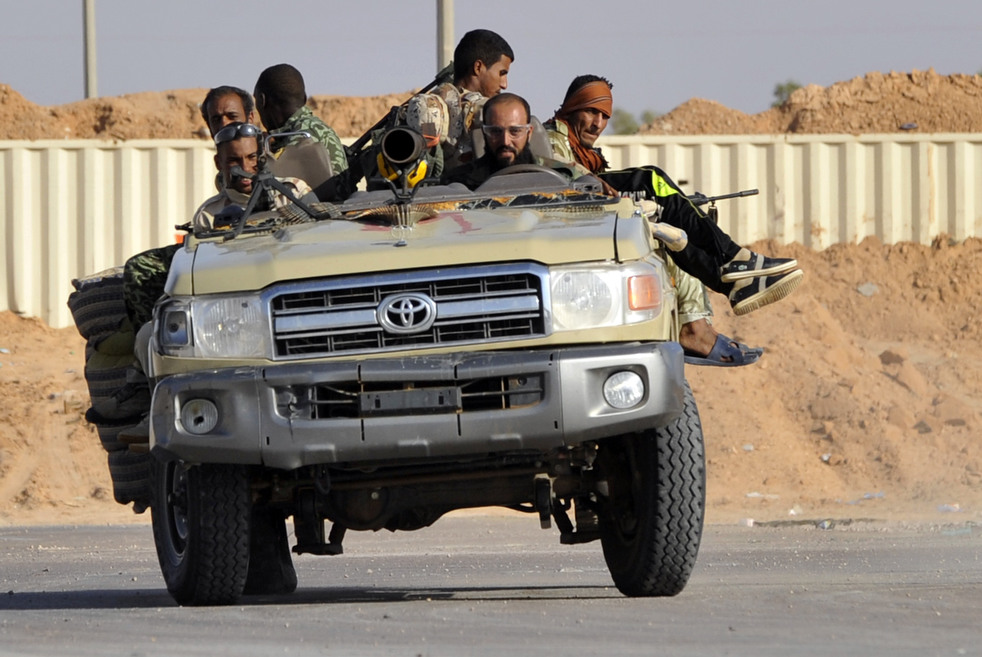 221 Perang di Libya: Sirte pada ofensif