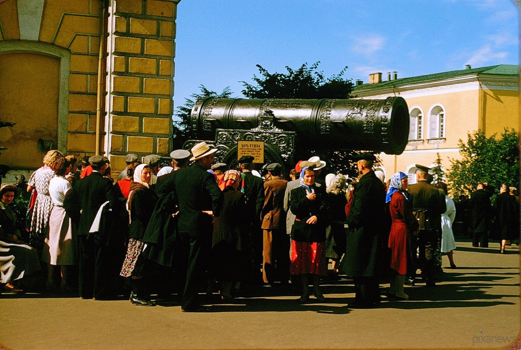 2426 Москва 1956 в фотографиях Жака Дюпакье