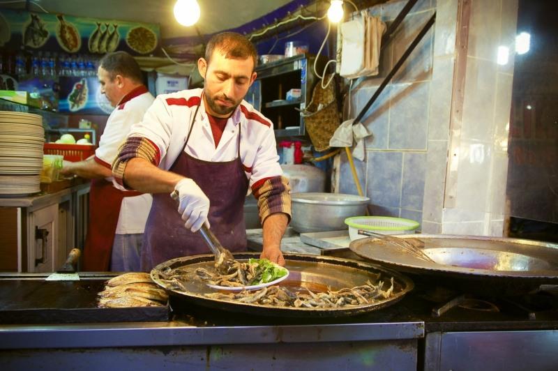 2446 Еда в Стамбуле