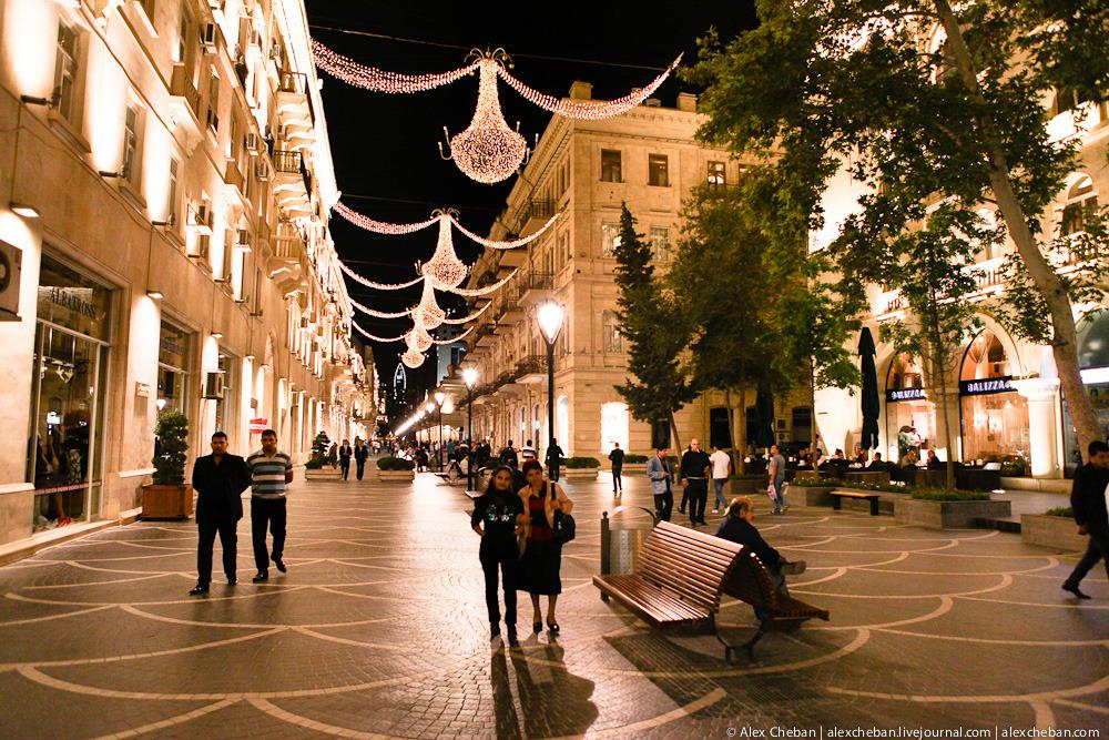 2544 Прогулка по ночному Баку