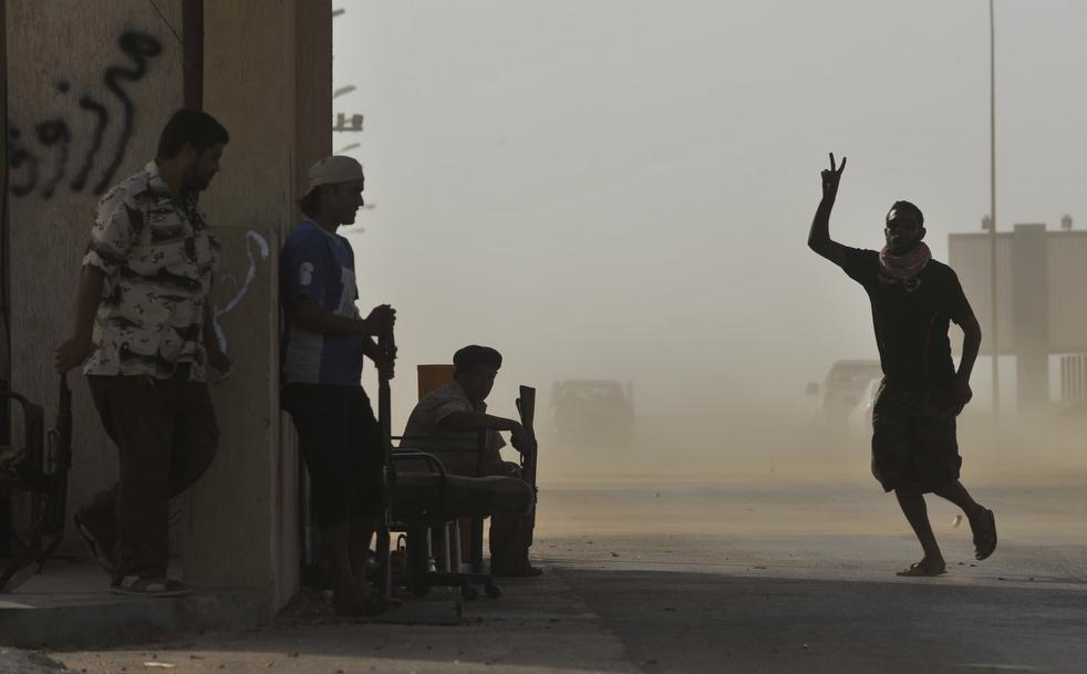26 Perang di Libya: Sirte pada ofensif