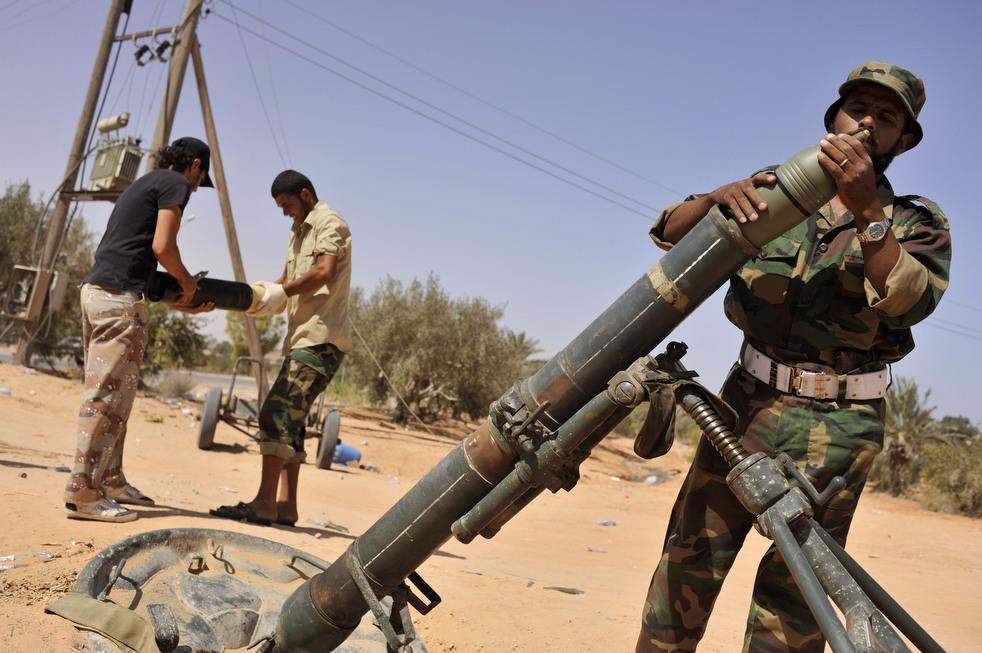 27 Perang di Libya: Sirte pada ofensif