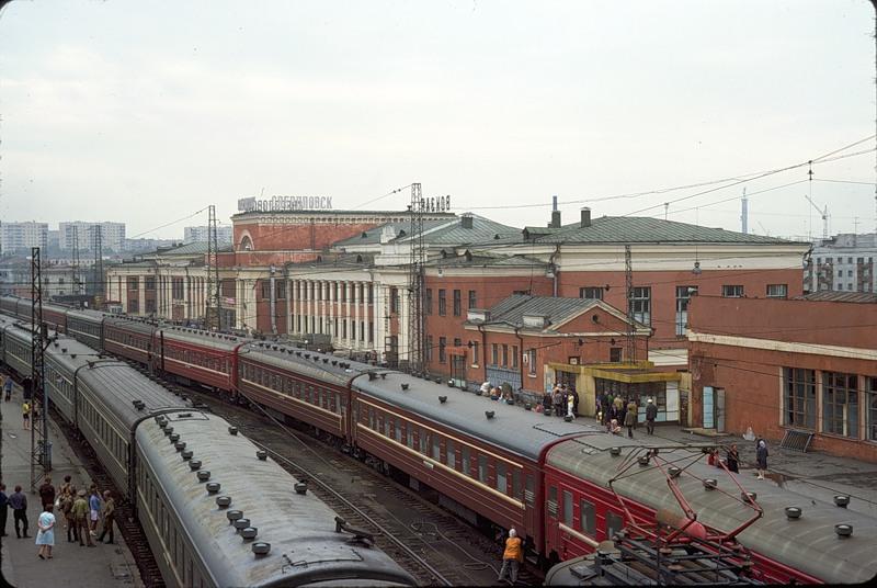 2716 СССР из окна поезда в 1975 году