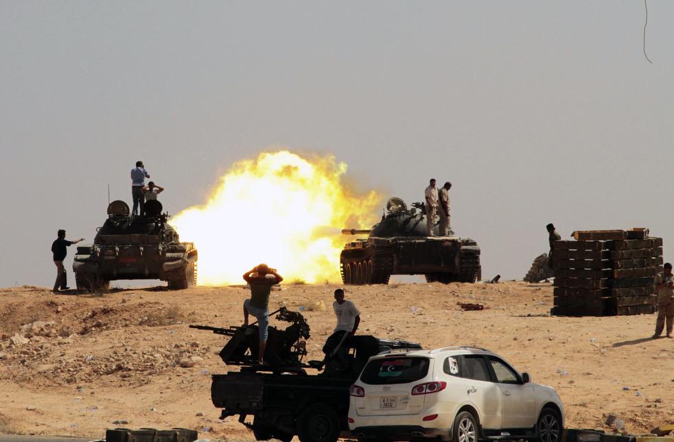 28 Perang di Libya: Sirte pada ofensif