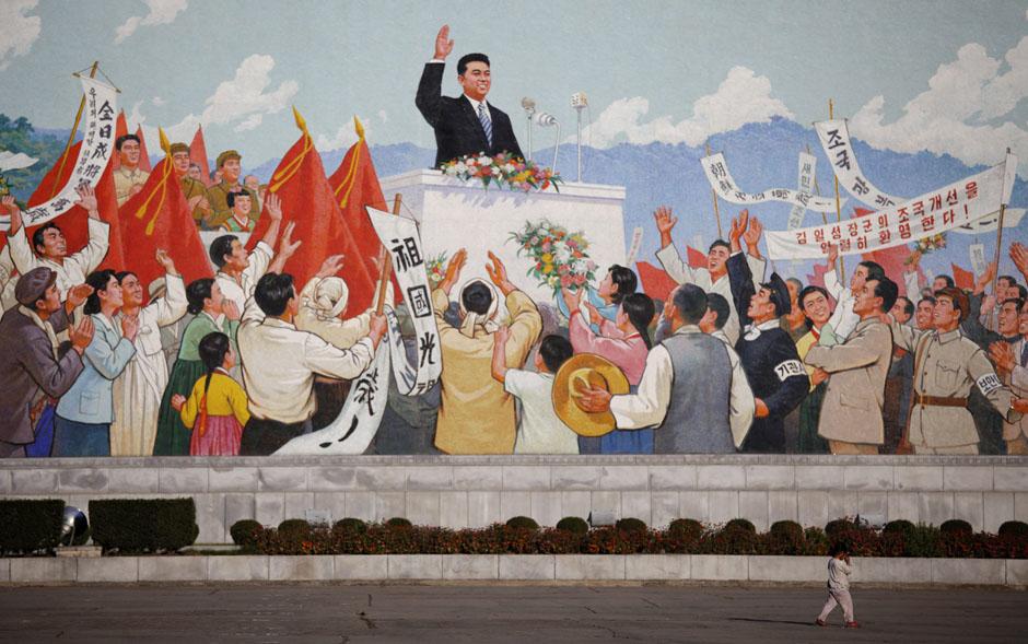 3018 Kelaparan di Korea Utara