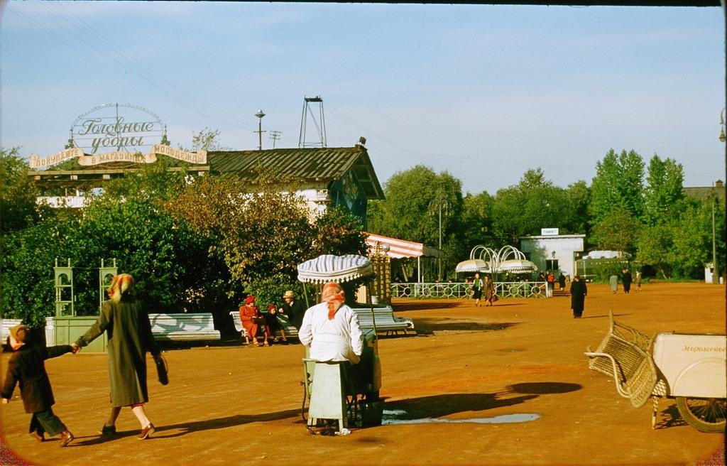 3020 Москва 1956 в фотографиях Жака Дюпакье