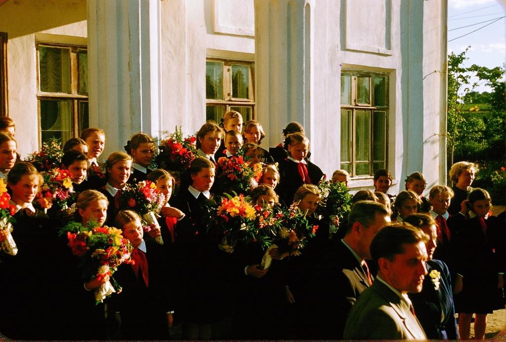 3128 Москва 1956 в фотографиях Жака Дюпакье
