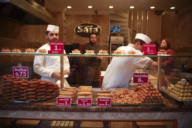 3168 Еда в Стамбуле