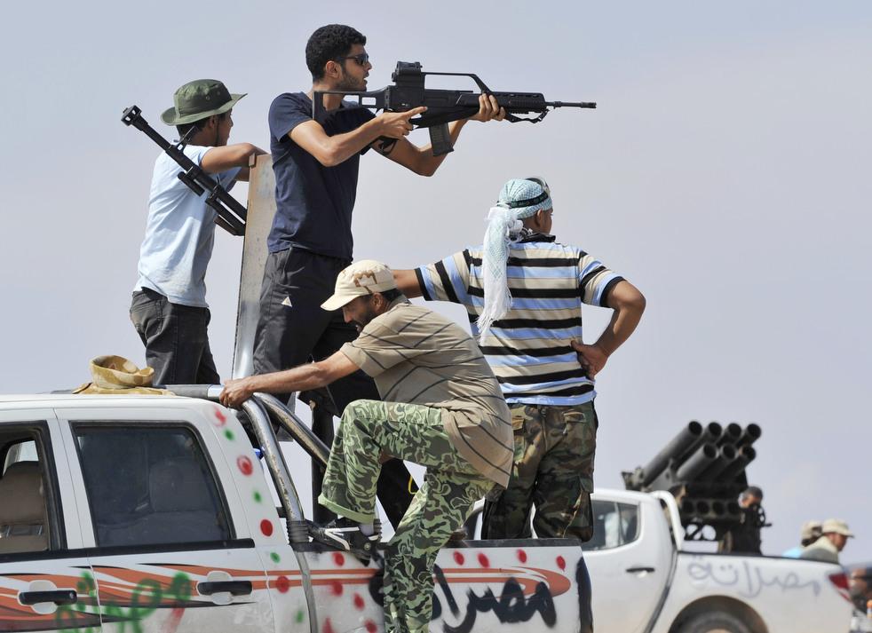 32 Perang di Libya: Sirte pada ofensif