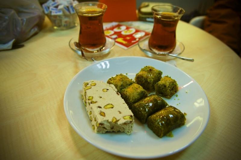 3236 Еда в Стамбуле