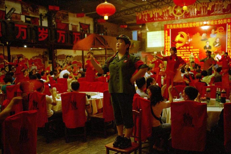 Красные рестораны вКитае
