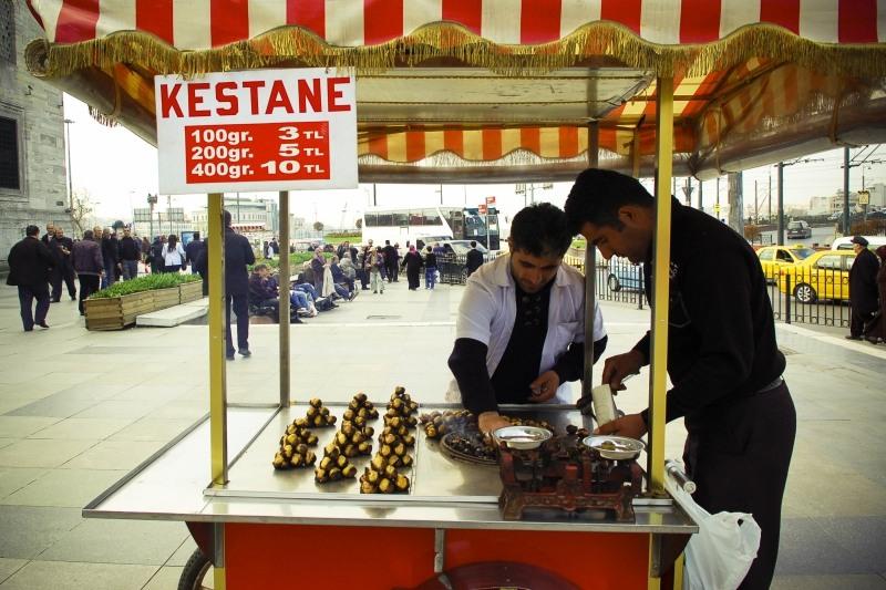 3726 Еда в Стамбуле