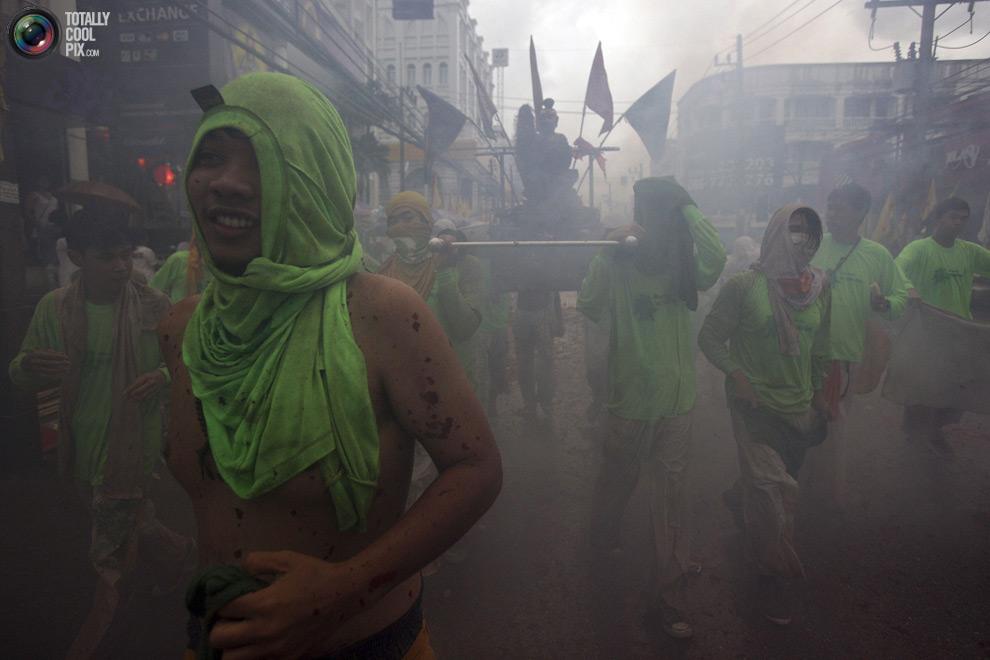 384 Vegetarian Festival di Thailand