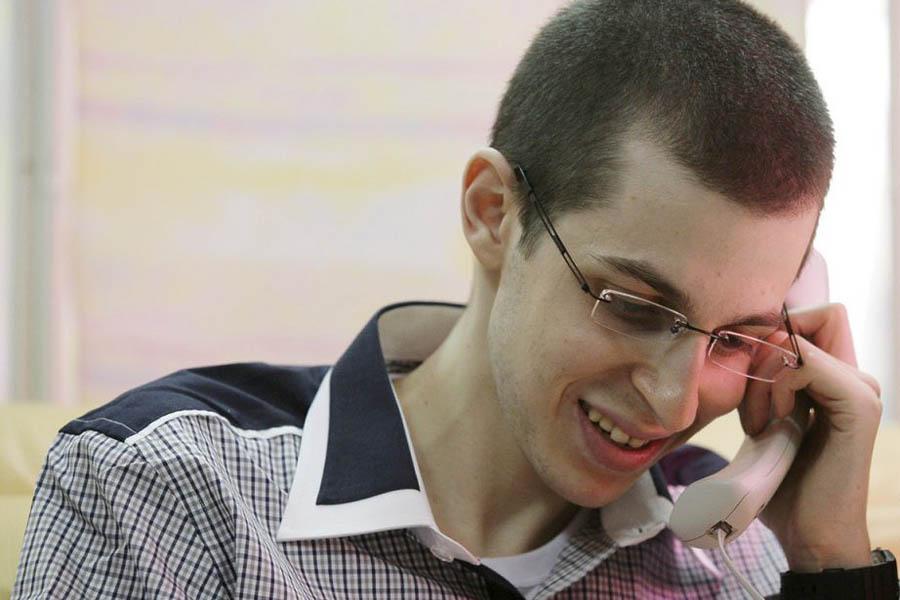 387 997 Gilad Shalit pulang ke rumah