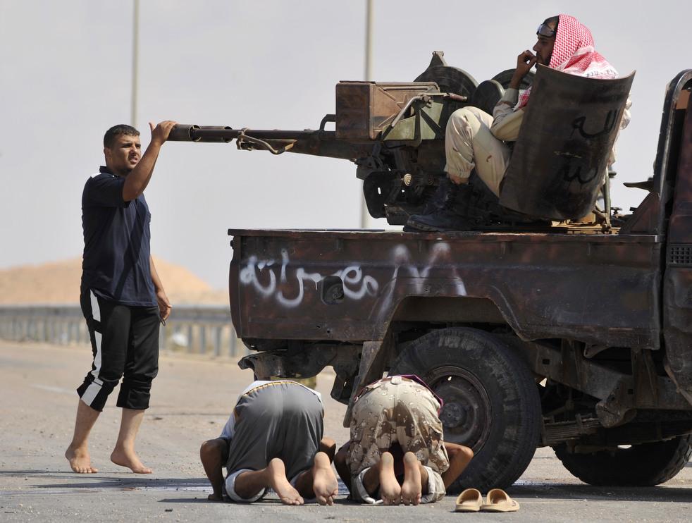 42 Perang di Libya: Sirte pada ofensif
