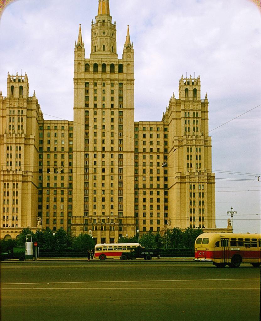 488 Москва 1956 в фотографиях Жака Дюпакье