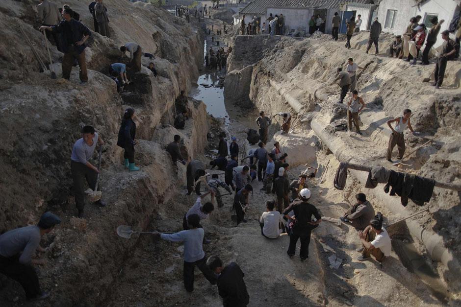 550 Kelaparan di Korea Utara