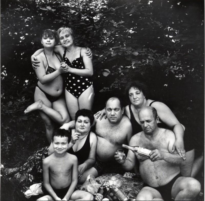 Голые русские времен ссср черно белое фото