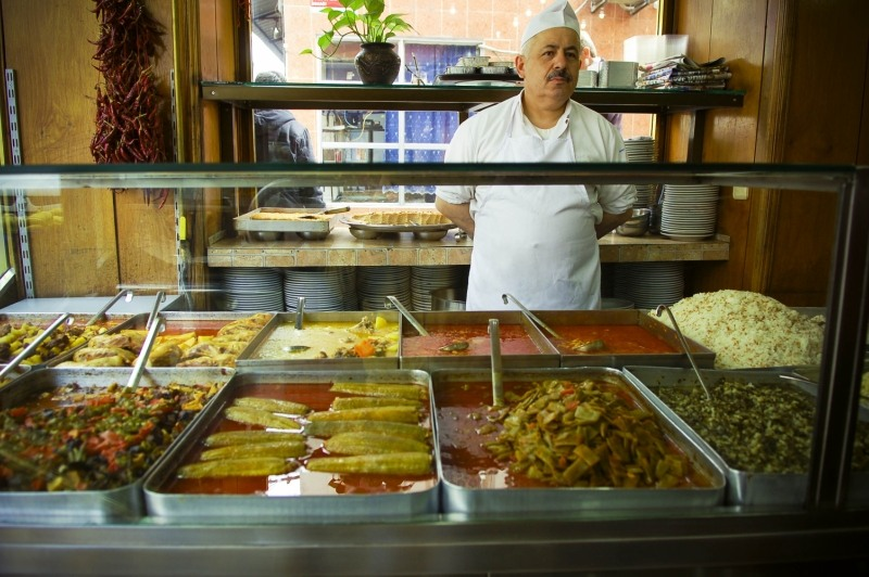 689 Еда в Стамбуле