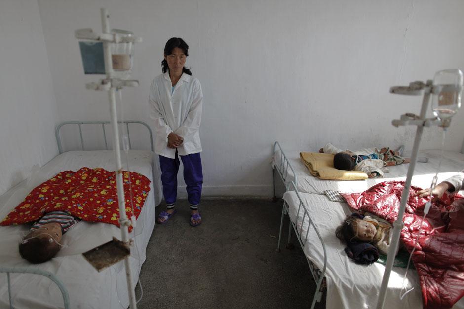 745 Kelaparan di Korea Utara