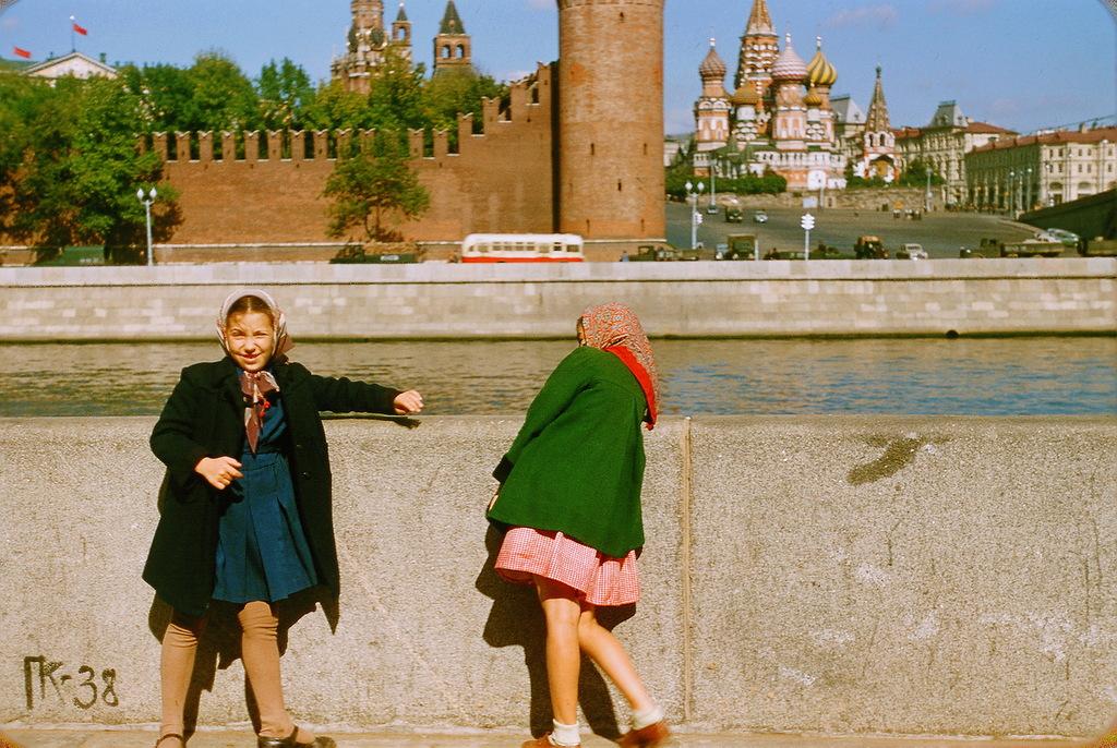 749 Москва 1956 в фотографиях Жака Дюпакье
