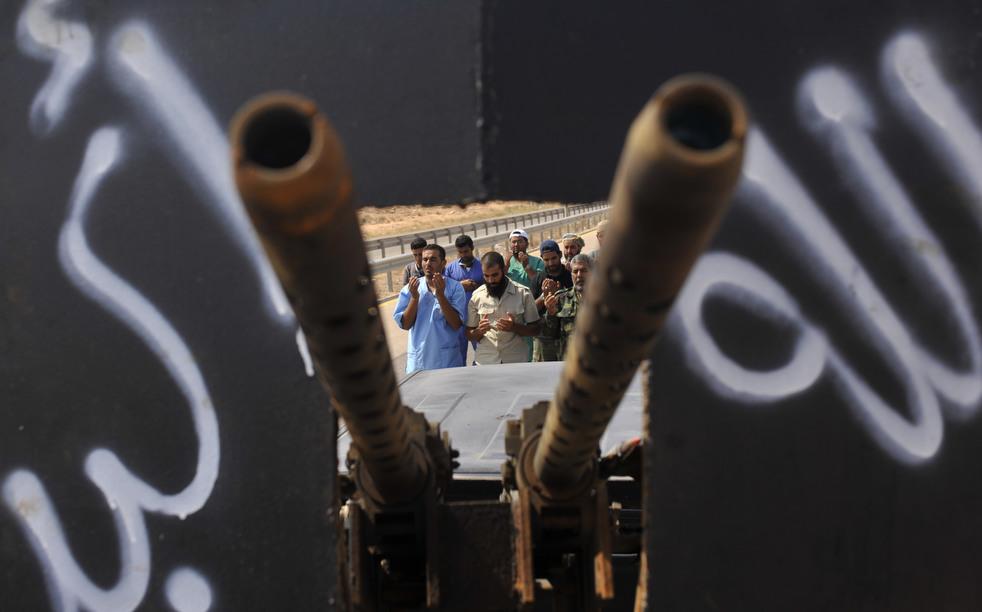 82 Perang di Libya: Sirte pada ofensif
