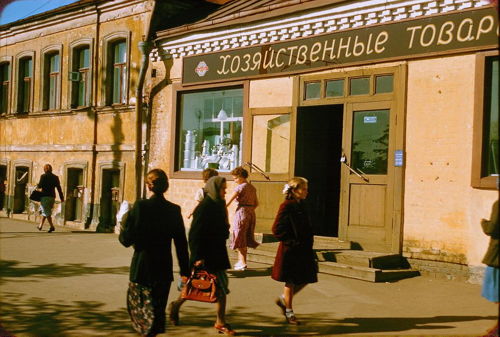 849 Москва 1956 в фотографиях Жака Дюпакье