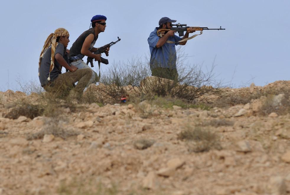 92 Perang di Libya: Sirte pada ofensif