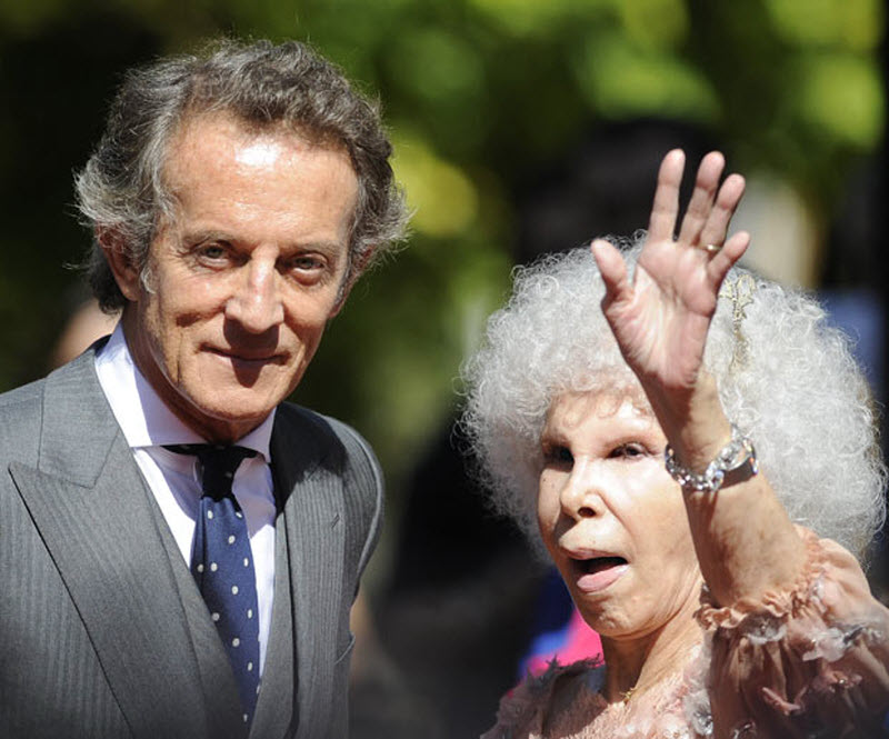 85-летняя Герцогиня Альба вышлазамуж