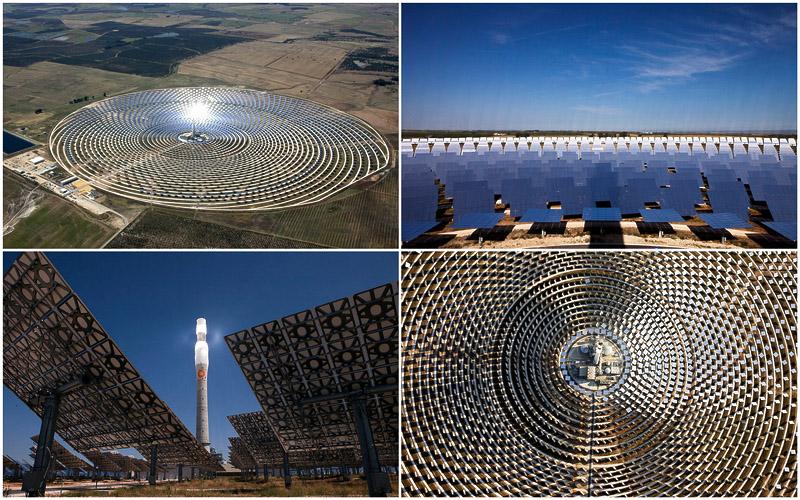 BIGPIC104  Уникальная гелиоэлектростанция Gemasolar