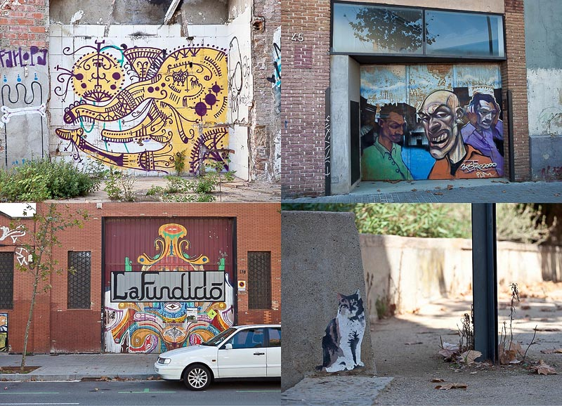 Street-art Барселоны