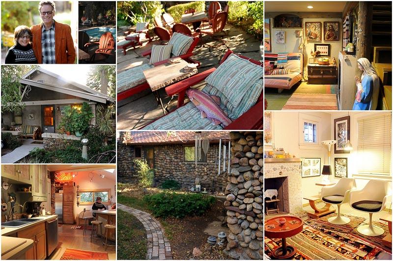 BIGPIC127 Необычный старинный дом американских супругов художников