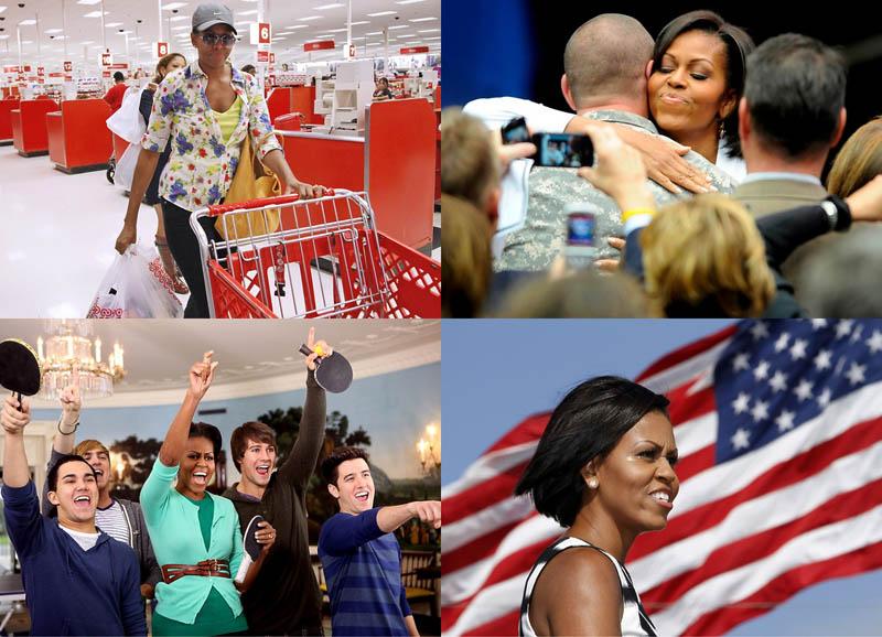 Мишель Обама в супермаркете и не только