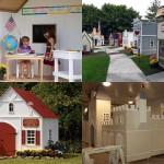 Игровые домики для богатых детей