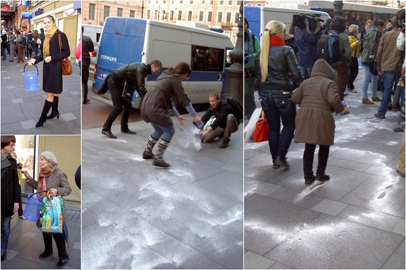 Очистить Петербург от суеверий с помощью флешмоба