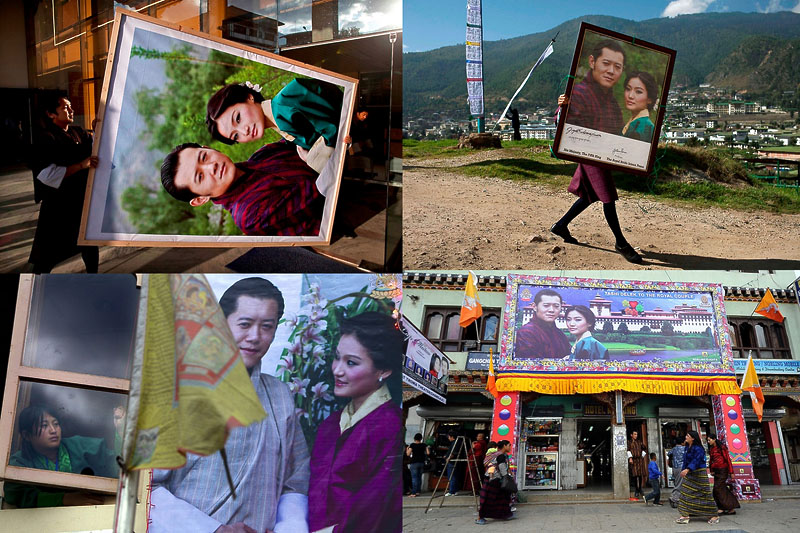 Король Бутана женился на простолюдинке, первой красавице страны