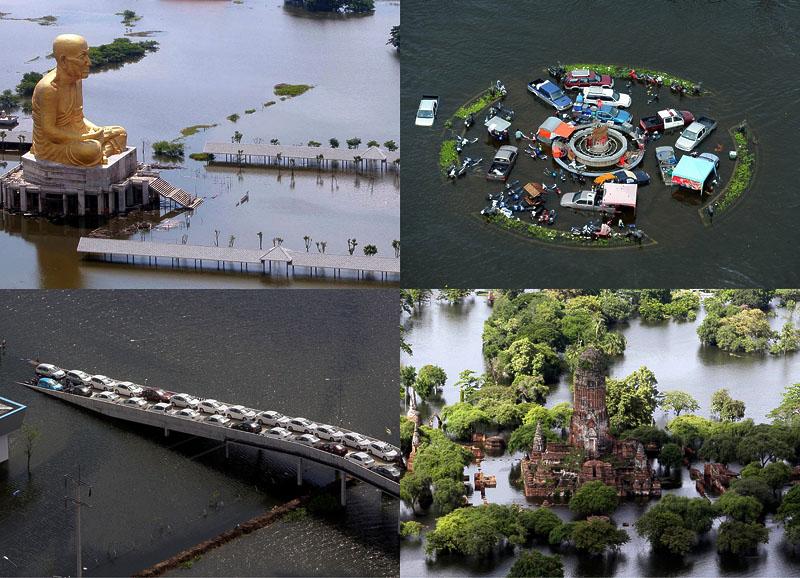 Bigpic68 наводнение в тайланде вид сверху