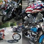 """Мотоциклы и солнечный свет: мотофестиваль """"Американская жара"""""""