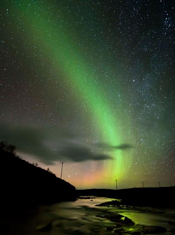 aurora borealis 07 Сказочные небеса Норвегии