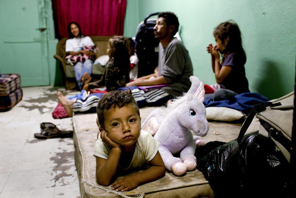 Hari kerja border05 AS-Meksiko perbatasan