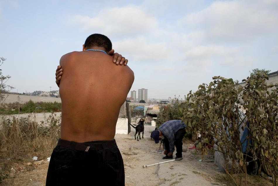 Hari kerja border11 AS-Meksiko perbatasan