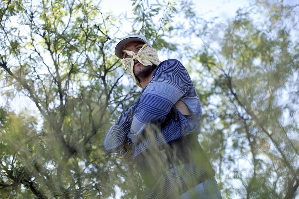 Hari kerja border15 AS-Meksiko perbatasan