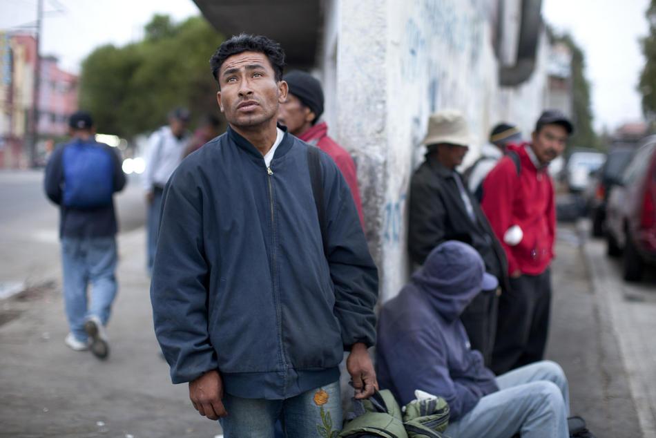 Hari kerja border16 AS-Meksiko perbatasan