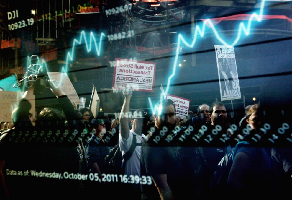 bp6 Акция Захвати Уолл стрит набирает обороты