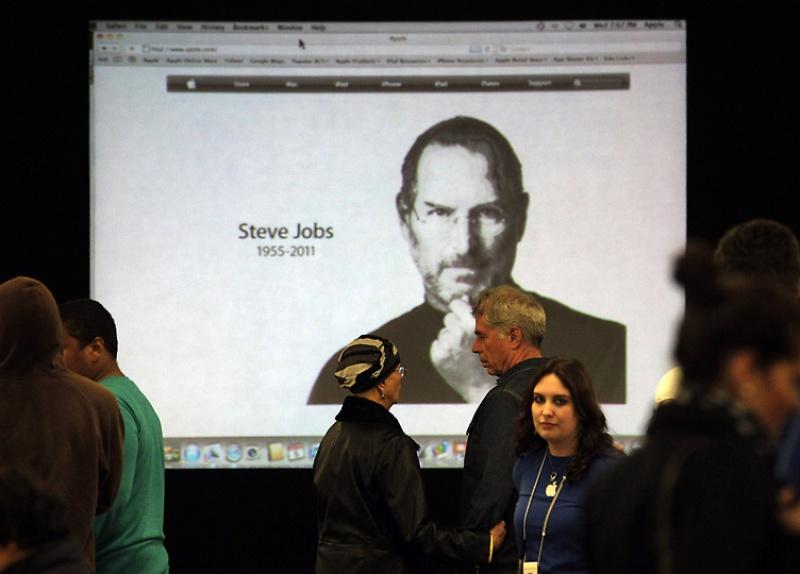 byesteve11 Мир скорбит о смерти Стива Джобса