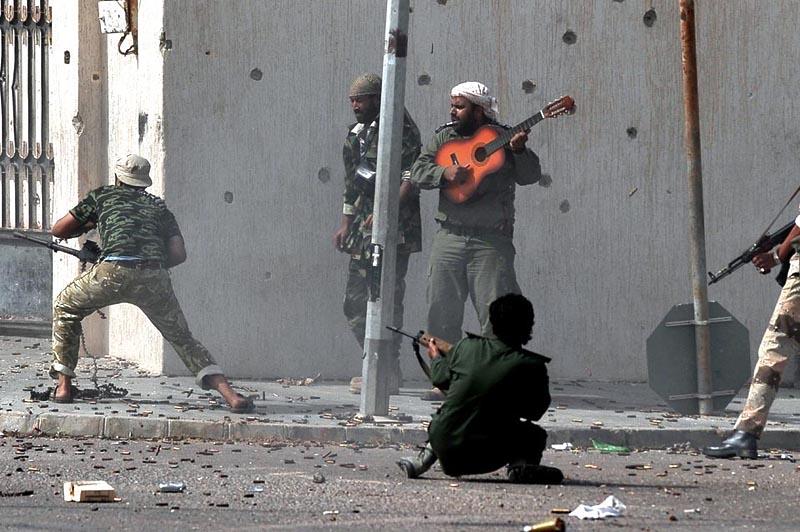 gitara Муаммар Каддафи мертв