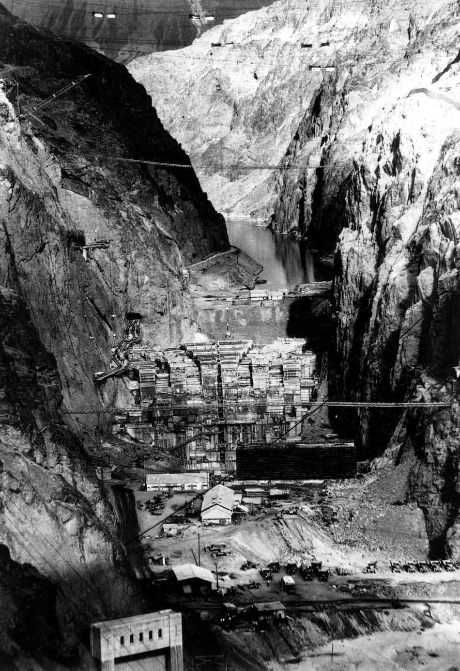 hooverdam15 Как строилась плотина Гувера