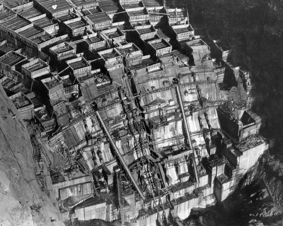 hooverdam16 Как строилась плотина Гувера