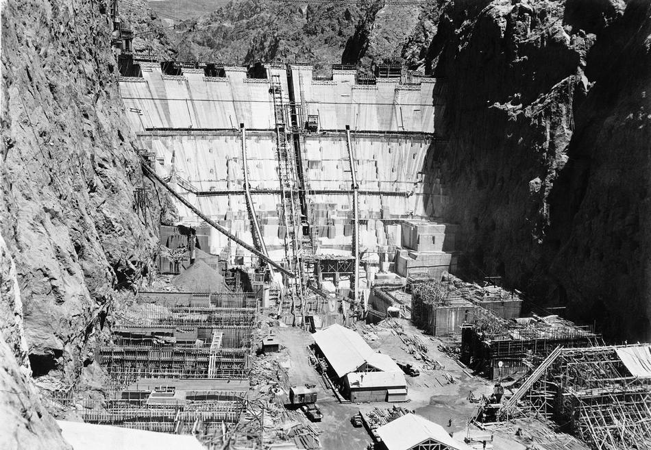 hooverdam17 Как строилась плотина Гувера